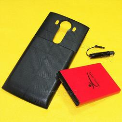 11000mAh Replacement Extended Battery Back Cover Pen for LG