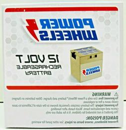 Power Wheels 12-Volt Rechargeable Replacement Battery New OE