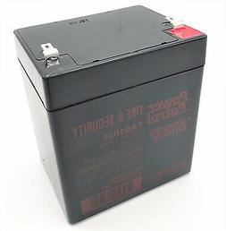 POWER-SONIC 1200502602 12V 5AH SLA BATTERY F1