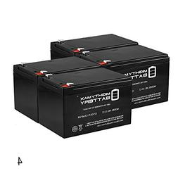 12V 12AH F2 KID TRAX RECHARGEABLE REPLACEMENT BATTERY - 4 Pa