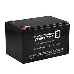 Mighty Max Battery 12V 12AH Replacement Battery for Pink Cor