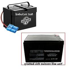Exell Battery 12V 12AH F2 Kid Trax Rechargeable Replacement