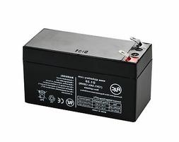 AJC Battery 12v 1.3Ah 12V 1.3Ah Sealed Lead Acid Replacement
