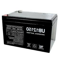 Universal Power Group 12V 15AH F2 SLA Battery Replacement fo
