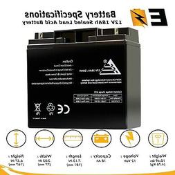 12V 18AH SLA Rechargeable Replacement Battery for Ritar RT12