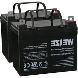 Weize 12V 35AH Battery for Invacare Pronto M41 Wheelchair 24