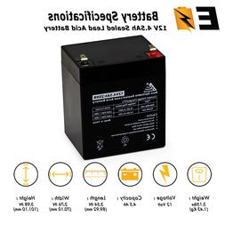 12V 4.5Ah Rechargeable Battery for djw12-4.5, LiftMaster 485