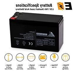 ExpertBattery 12V 7Ah Replacement Battery for Mighty Mule NP