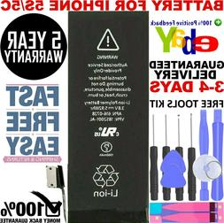 1560mAh Internal Replacement Li-ion Battery Tools For iPhone