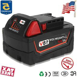 18 Volt For Milwaukee M18 Max Lithium Ion XC 3.0 Battery 18V