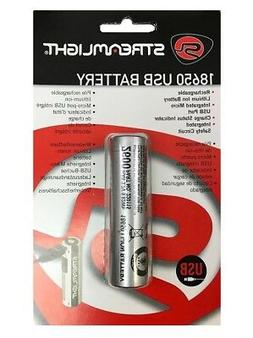 STREAMLIGHT 18650 Lithium Ion Li-Ion RECHARGEABLE Battery Re
