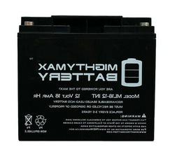 Mighty Max Battery 12V 18AH SLA Internal Thread Replacement