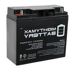 Mighty Max Battery 12V 18AH SLA Battery Replacement for Cen-