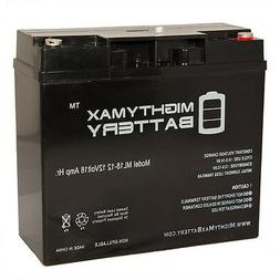 Mighty Max 12V 18AH SLA Replacement Battery for Troy-Bilt 80