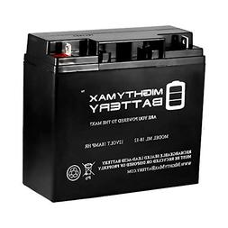 Mighty Max 12V 18AH SLA Replacement Battery for Jump N Carry
