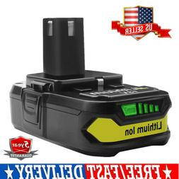 18V 2.5Ah Lithium-Ion Replacement Battery For Ryobi ONE+ P10