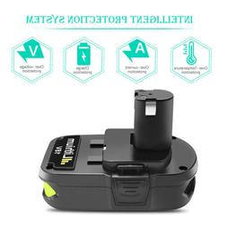 18V 2500mAh Replacement Battery For Ryobi ONE+P122 P102 P103