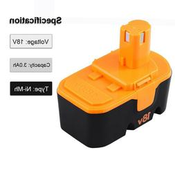 18v 3.0Ah Replace for Ryobi Battery ONE+ P100 P101 1322401 1