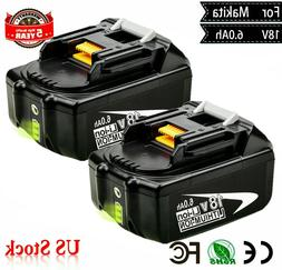 18V 6.0Ah REPLACE BL1860B BATTERY LXT LITHIUM-ION FOR Makita
