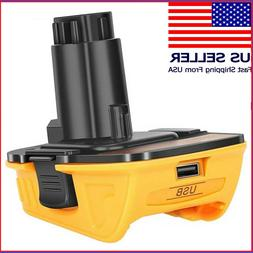 18V To 20V Battery Adapter- Replacement For Dewalt DCA1820 W