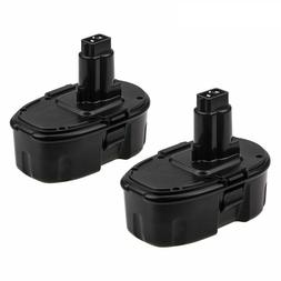 2 Pack 18V Ni-CD DC9096 Battery Replacement for Dewalt Power