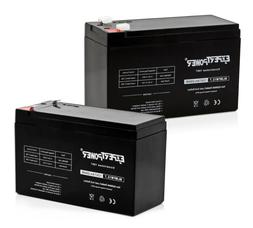 Expert Power 2 Pack-12V 7AH Replacement Battery for ADT 4779