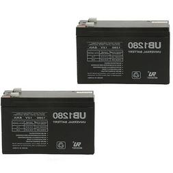 UPG 2 Pack - 12V 8Ah F2 Replacement Battery for APC Back-UPS