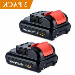 2 pack 12v max lithium ion replacement