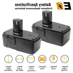 2 Pack: 18 VOLT 2.0Ah Replacement BATTERY for CRAFTSMAN 1109