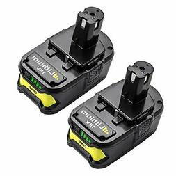 Bonacell 2 Pack 18V 4000mAh Replacement Battery for Ryobi P1