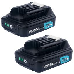 2-Pack BL1021B 12V Max CXT 2.5Ah Lithium-Ion Battery Replace