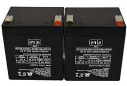 SPS 2 Pack - NEW UPGRADE Replacement for RITAR RT1245 UPS ba