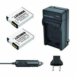 Bonacell 2 Pack Replacement Nikon EN-EL12 Battery and Charge