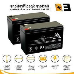 2 packs of replacement battery for cyberpower