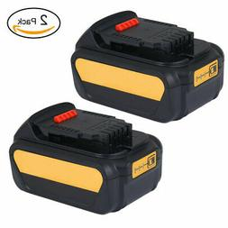 2 Pcs 20V Power Tools Replacement Rechargeable Li-ion Batter
