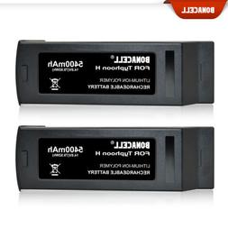 2 x 5400mAh For Yuneec Typhoon H 4S 4K Replace LiPo Drone Ba