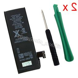2 x Replacement Battery For iPhone 5 A1428 A1429 A1442 616-0
