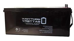 Mighty Max Battery 12V 200Ah 4D SLA AGM Battery Replacement
