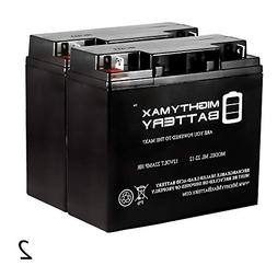Mighty Max Battery 12V 22AH SLA Battery Replacement for Meri