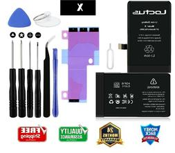 2716mAh Replacement Battery iPhone X with Complete Tool Kit