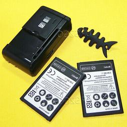 Replacement Battery or External Charger for LG Phoenix 3 M15