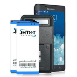 2x 3200mAh Replacement Battery + Charger For Samsung Galaxy