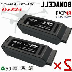 2X Bonacell 5400mAh 14.8V Replacement Lipo Battery 4S For Yu