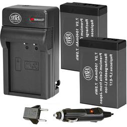 2X LP-E17 Replacement Battery and AC/DC Charger for Canon M5