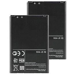 2x Replacement For LG BL-44JH Li-ion Mobile Phone Battery 17