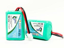 2x SportDog MH120AAAL4GC Battery Replacement , 4.8V, 150mAh,