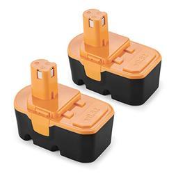 Energup 2 Pack 18V 3500mAh Replacement Battery for Ryobi One