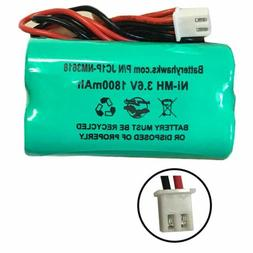 Unitech Ni-MH AA1800mAh 3.6V Battery Pack Replacement for Em