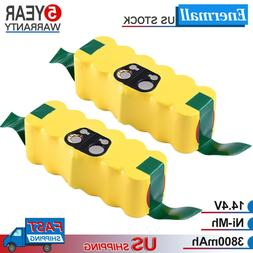 3.8Ah Replacement for iRobot Roomba 14.4V Battery R3 500 600