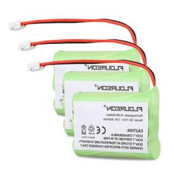 3X Replacement Battery 3.6V 900mAh Ni-MH Cordless Phone for
